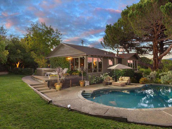 Large Pool Los Altos Hills Real Estate