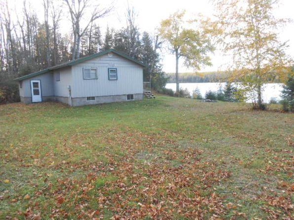 3 bed 1 bath Single Family at 7899 Hawk Lake Rd Marenisco, MI, 49947 is for sale at 85k - 1 of 25