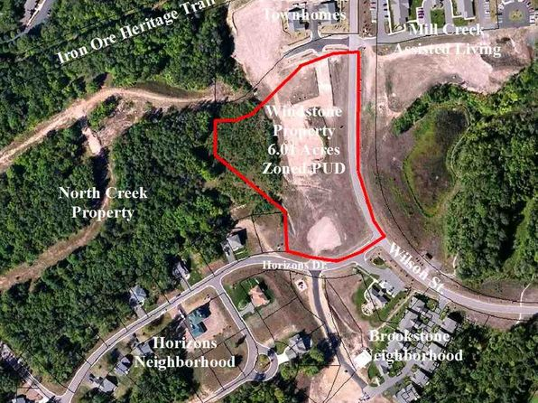 null bed null bath Vacant Land at 1700 Wilson St Marquette, MI, 49855 is for sale at 900k - google static map
