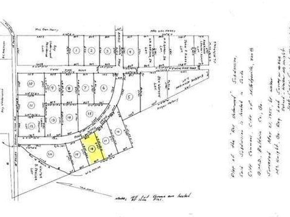null bed null bath Vacant Land at 2285 Pinewood Dr SE Milledgeville, GA, 31061 is for sale at 6k - google static map