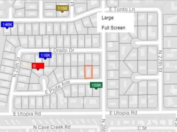 null bed null bath Vacant Land at 2540 E Piute Ave Phoenix, AZ, 85050 is for sale at 70k - 1 of 2