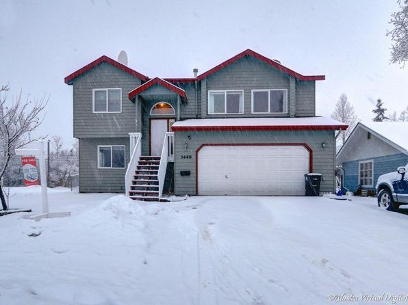 4 bed 3 bath Single Family at 1440 WINTERGREEN ST ANCHORAGE, AK, 99508 is for sale at 350k - 1 of 35