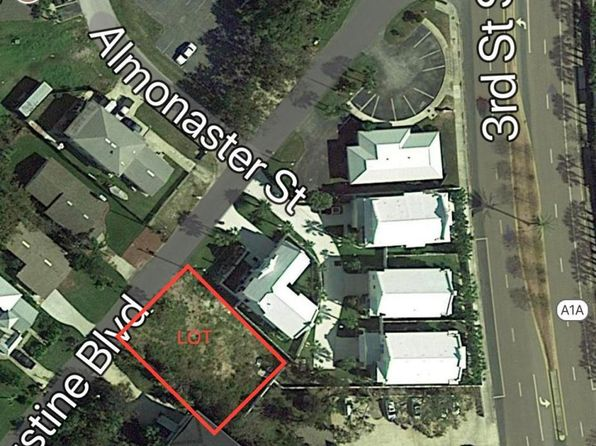 null bed null bath Vacant Land at 344 St Augustine Blvd Jacksonville Beach, FL, 32250 is for sale at 299k - google static map