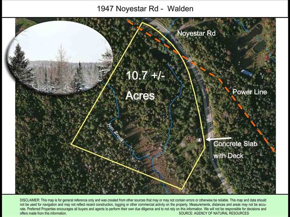 null bed null bath Vacant Land at 1947 Noyestar Rd Walden, VT, 05873 is for sale at 22k - 1 of 40