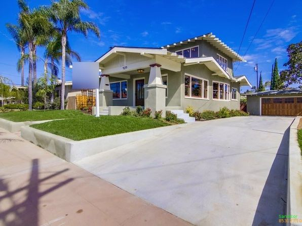 3 bed 3 bath Single Family at 4179 Palmetto Way San Diego, CA, 92103 is for sale at 1.36m - 1 of 25