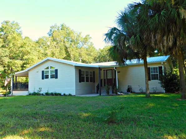 3 bed 2 bath Mobile / Manufactured at 8291 NW 172nd Ln Fanning Springs, FL, 32693 is for sale at 135k - 1 of 40