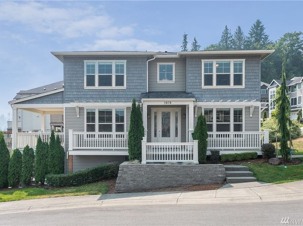 4 bed 2.75 bath Single Family at 2678 NW Pine Cone Pl Issaquah, WA, 98027 is for sale at 1m - 1 of 25