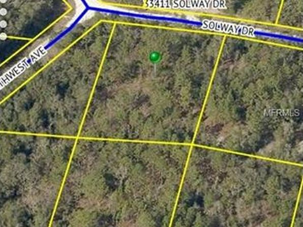 null bed null bath Vacant Land at 33412 SOLWAY DR WEBSTER, FL, 33597 is for sale at 11k - google static map