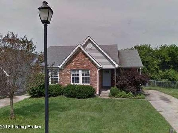 3 bed 2 bath Single Family at 117 Clifton Ct Shelbyville, KY, 40065 is for sale at 105k - google static map