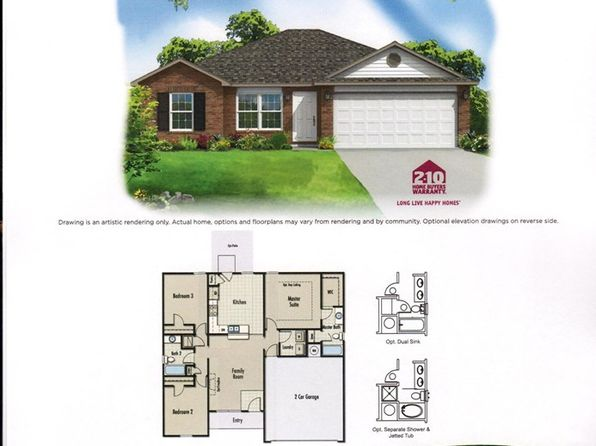 3 bed 2 bath Single Family at 314 Emma Dr Brookland, AR, 72417 is for sale at 132k - google static map