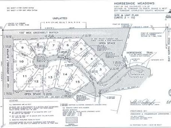 null bed null bath Vacant Land at 14 Buckaroo Trl Petoskey, MI, 49770 is for sale at 19k - google static map