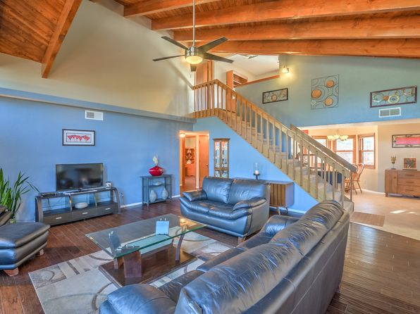 3 bed 2 bath Single Family at 95 Juniper Hill Loop Cedar Crest, NM, 87008 is for sale at 300k - 1 of 14