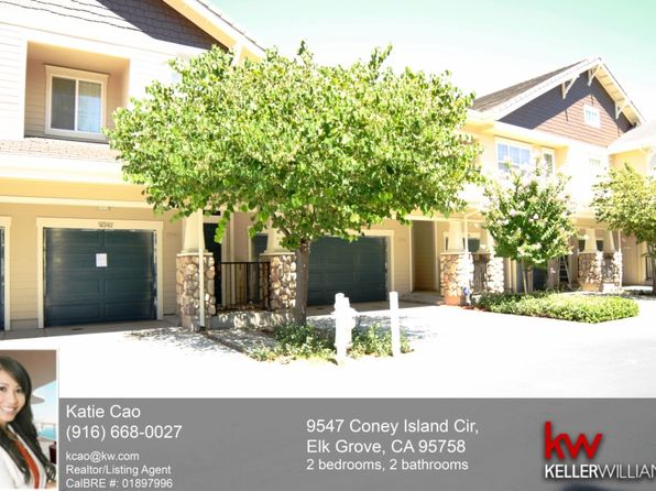 2 bed 2 bath Condo at 9547 Coney Island Cir Elk Grove, CA, 95758 is for sale at 268k - 1 of 27