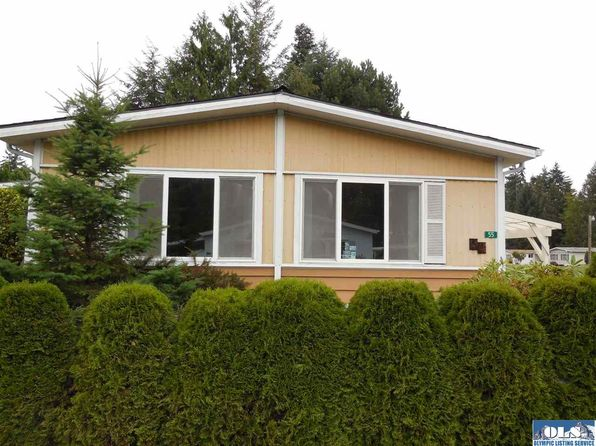 2 bed 2 bath Single Family at 111 Dryke Rd Sequim, WA, 98382 is for sale at 53k - 1 of 14