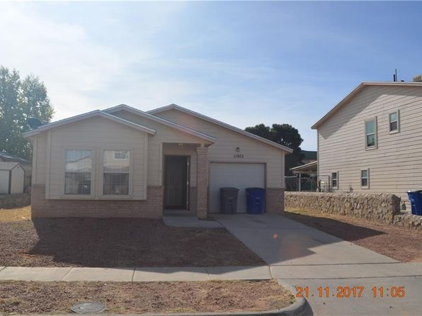 3 bed 2 bath Single Family at 11972 Banner Crest Dr El Paso, TX, 79936 is for sale at 110k - 1 of 15