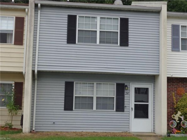3 bed 2 bath Townhouse at 24 Roffman Pl Newport News, VA, 23602 is for sale at 99k - 1 of 6