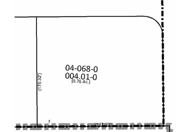 null bed null bath Vacant Land at 1 Cedars North Lima, OH, 44452 is for sale at 42k - google static map