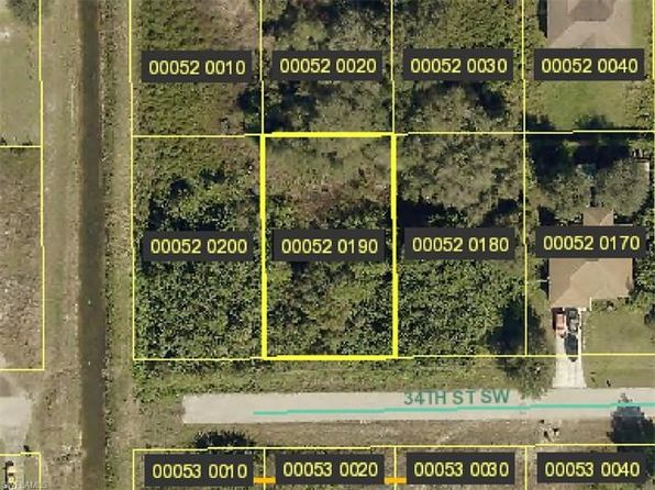 null bed null bath Vacant Land at 3816 34TH ST SW LEHIGH ACRES, FL, 33976 is for sale at 6k - google static map