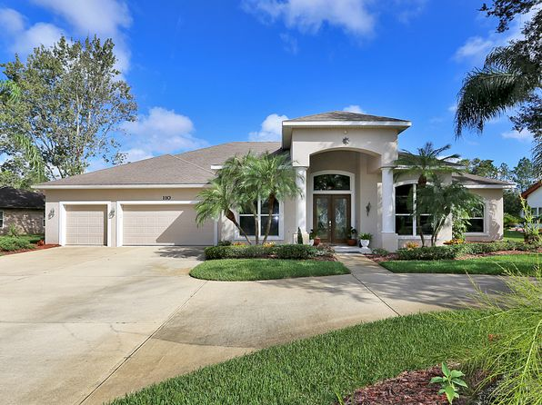 4 bed 3 bath Single Family at 110 Shadow Creek Way Ormond Beach, FL, 32174 is for sale at 474k - 1 of 21