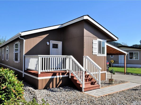 3 bed 2 bath Mobile / Manufactured at 190 Cardinal Ln Kelso, WA, 98626 is for sale at 58k - 1 of 22