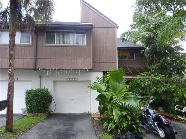 4 bed 3 bath Townhouse at 8246 NW 9th St Plantation, FL, 33324 is for sale at 100k - 1 of 3