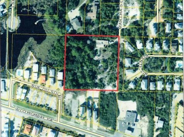 null bed null bath Vacant Land at 70 Marthas Ln Santa Rosa Beach, FL, 32459 is for sale at 850k - google static map