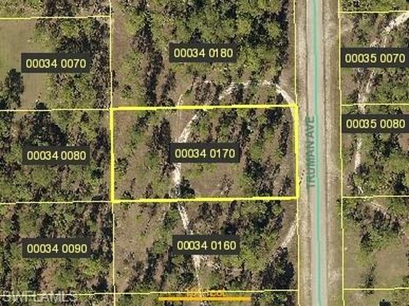 null bed null bath Vacant Land at 2209 TRUMAN AVE ALVA, FL, 33920 is for sale at 7k - google static map