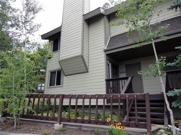 4 bed 3 bath Condo at 6965 Ryan Gulch Rd Silverthorne, CO, 80498 is for sale at 495k - 1 of 25