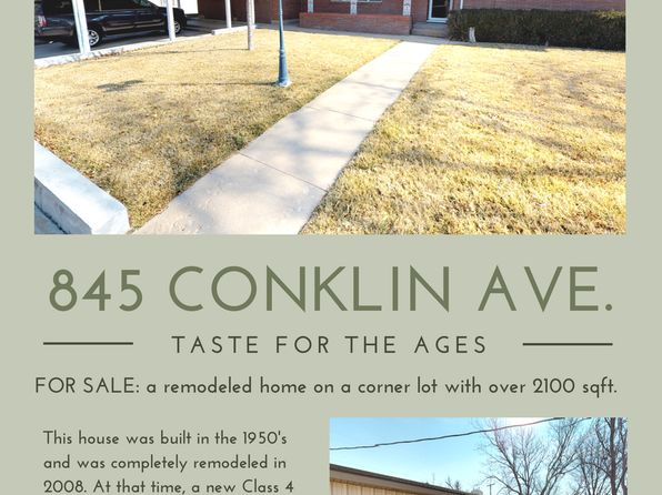 3 bed 2 bath Single Family at 845 Conklin St Canadian, TX, 79014 is for sale at 265k - 1 of 23