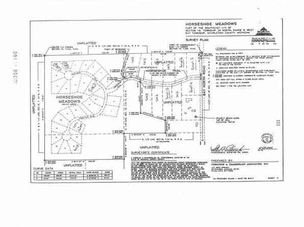 null bed null bath Vacant Land at 5 Horseshoe Trl Petoskey, MI, 49770 is for sale at 16k - google static map