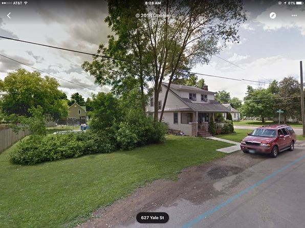 4 bed 2 bath Single Family at 629 Yale St Elmira, NY, 14904 is for sale at 69k - google static map