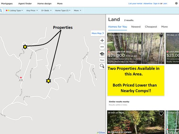 null bed null bath Vacant Land at  Hidden Valley Rd Clyde, NC, 28721 is for sale at 20k - 1 of 11