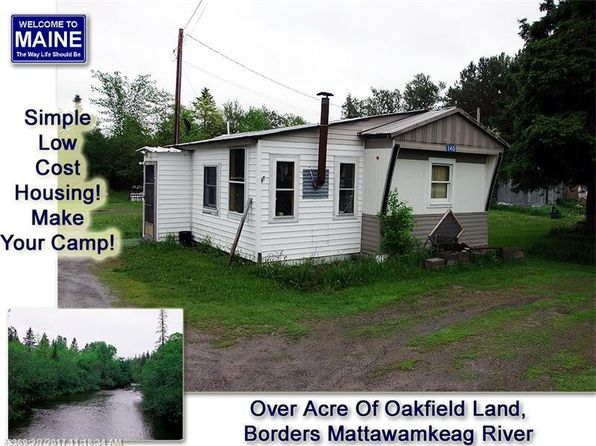 2 bed 1 bath Mobile / Manufactured at 140 Oakfield Rd Oakfield, ME, 04763 is for sale at 16k - 1 of 28