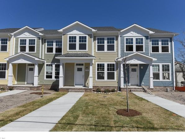 3 bed 3 bath Townhouse at 910 Hillside Ave Norfolk, VA, 23503 is for sale at 271k - 1 of 24