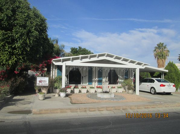 2 bed 2 bath Mobile / Manufactured at 247 Paseo Lorado N Cathedral City, CA, 92234 is for sale at 50k - 1 of 4
