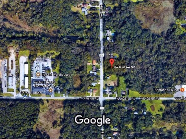 null bed null bath Vacant Land at 757-759 S Cline Ave Griffith, IN, 46319 is for sale at 37k - google static map