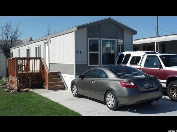 2 bed 1 bath Mobile / Manufactured at 212 E Park Hill Way Murray, UT, 84107 is for sale at 39k - 1 of 8