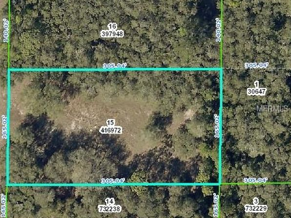 null bed null bath Vacant Land at 7392 ATWOOD DR WEBSTER, FL, 33597 is for sale at 15k - google static map