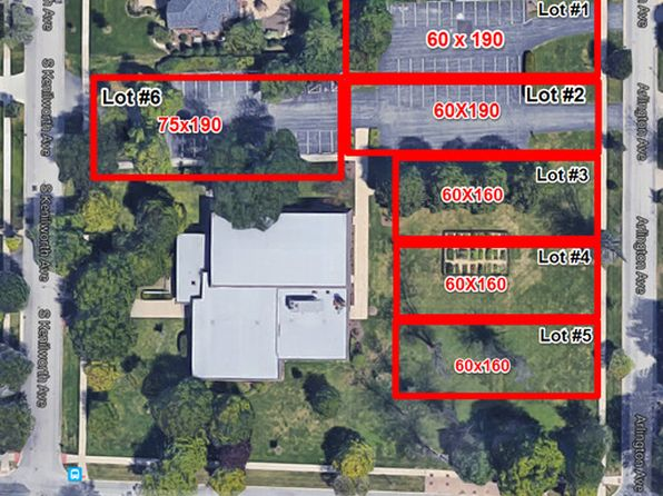 null bed null bath Vacant Land at  Lot # 4 Arlington Ave Elmhurst, IL, 60126 is for sale at 550k - google static map