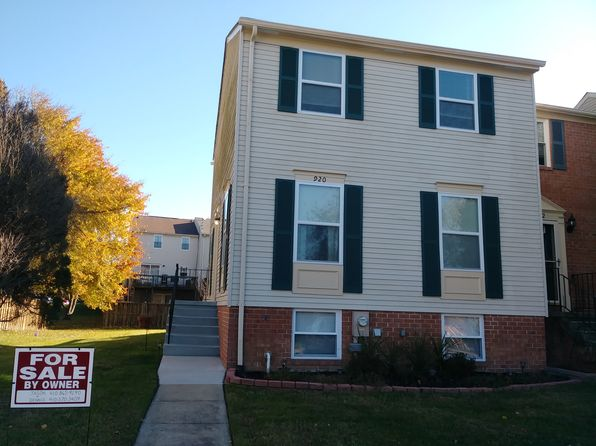 3 bed 2 bath Townhouse at 920 Penobscot Harbour Pasadena, MD, 21122 is for sale at 249k - 1 of 47