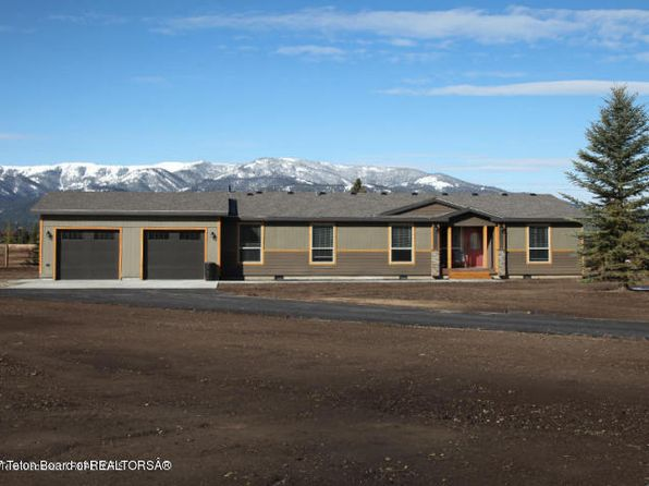 4 bed 3 bath Single Family at 150 Elkhorn Dr Alpine, WY, 83128 is for sale at 415k - 1 of 18