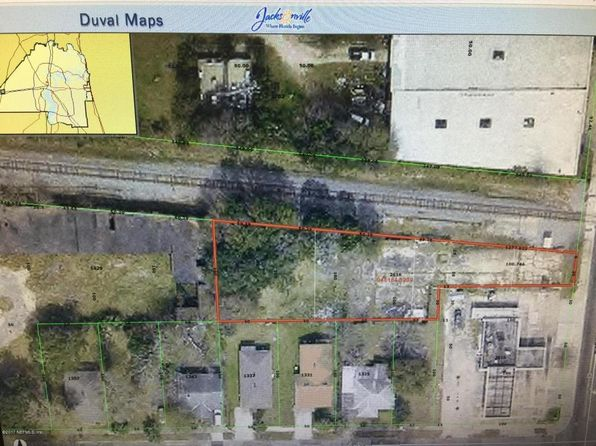null bed null bath Vacant Land at 2616 N Myrtle Ave Jacksonville, FL, 32209 is for sale at 49k - google static map