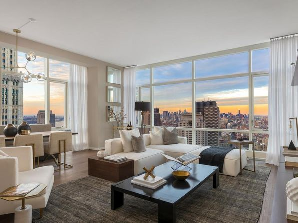 South Facing Floor To Ceiling Windows New York Real