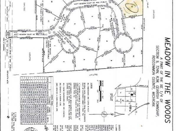 null bed null bath Vacant Land at  Xxx Misty Mdw Roscommon, MI, 48653 is for sale at 27k - 1 of 3