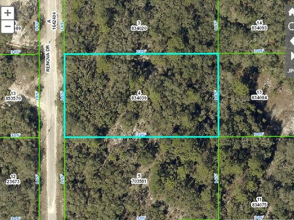 null bed null bath Vacant Land at 8190 RENOVA DR WEBSTER, FL, 33597 is for sale at 10k - 1 of 20