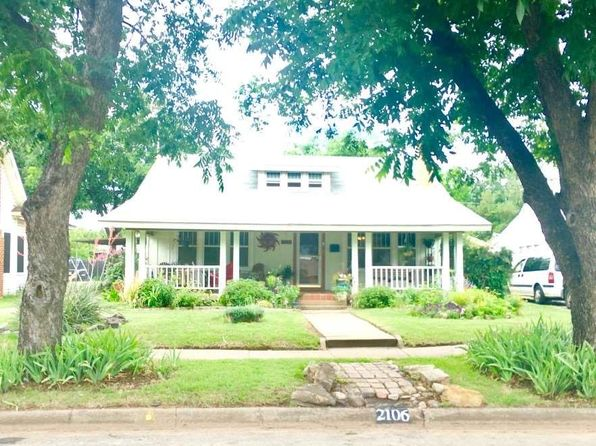 3 bed 2 bath Single Family at 2106 Hayes St Wichita Falls, TX, 76309 is for sale at 95k - 1 of 27