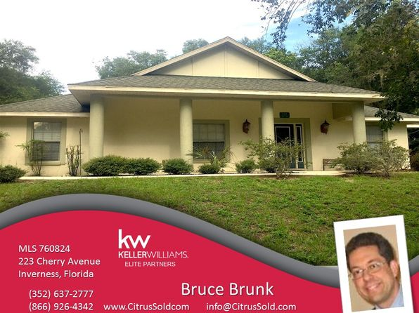 3 bed 3 bath Single Family at 223 Cherry Ave Inverness, FL, 34450 is for sale at 175k - 1 of 28
