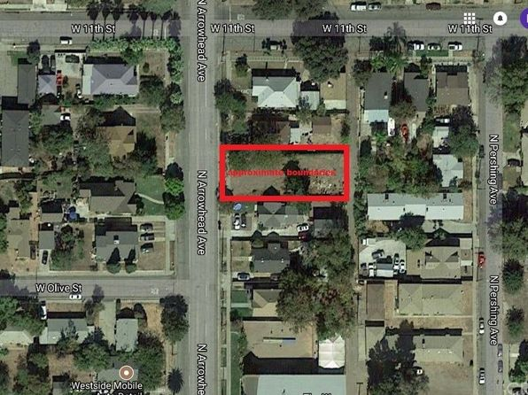 null bed null bath Vacant Land at 1075 N Arrowhead Ave San Bernardino, CA, 92410 is for sale at 45k - google static map
