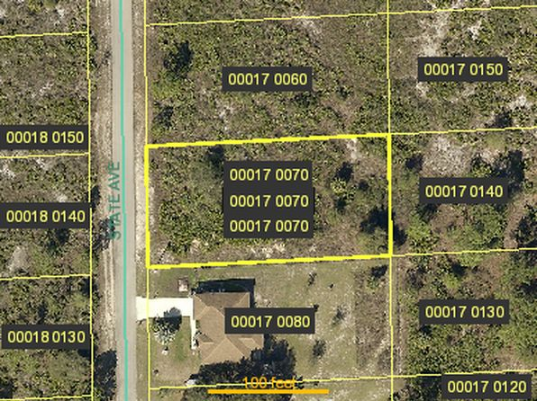 null bed null bath Vacant Land at 1706 STATE AVE LEHIGH ACRES, FL, 33972 is for sale at 7k - google static map