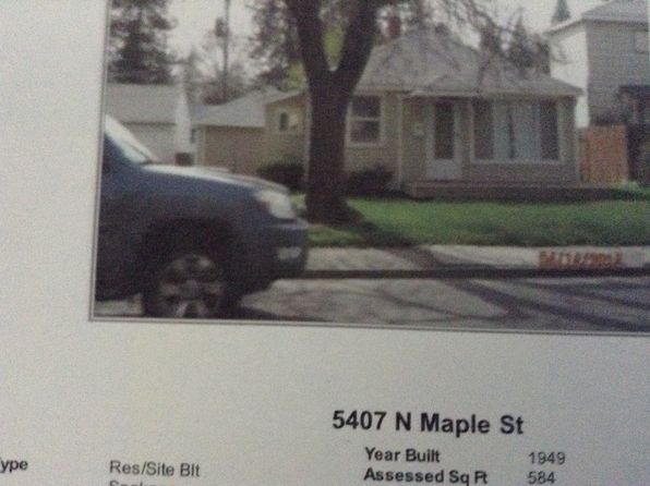 1 bed 1 bath Single Family at 5407 N Maple St Spokane, WA, 99205 is for sale at 85k - google static map